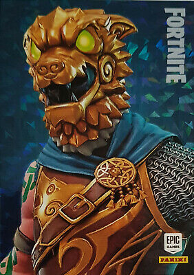 Panini Fortnite Trading Cards Serie 1 - Holo Epic Legendary Outfit  FOIL Paralle