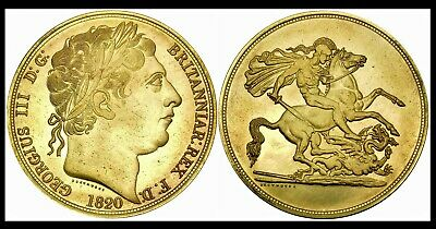 King George William Edward Queen Victoria Full Sovereign NOVELTY Coin Souvenir