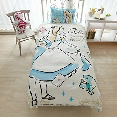 Disney Alice in Wonderland Alice bed cover 3-piece set w / Tracking