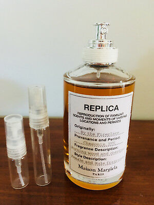 Maison Margiela Replica By the Fireplace EDT - 2ml/5ml decant atomiser spray