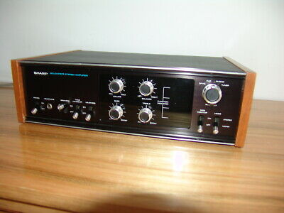 Rare Vintage Retro Sharp SM-503X Solid State Stereo Amplifier Including Phono am