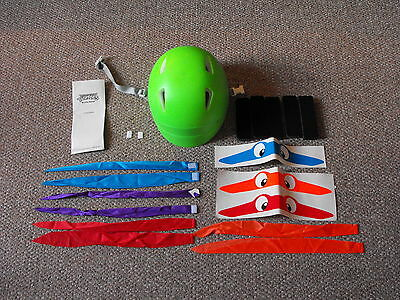 1991 Troxel TMNT Teenage Mutant Ninja Turtles Child Size Bicycle Helmet Set