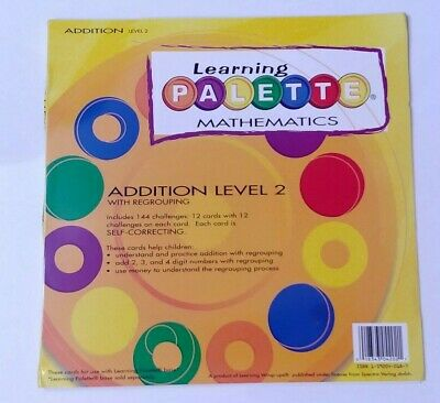 Learning Wrap-Ups Learning Palette Mathematics Addition Level 2 Cards