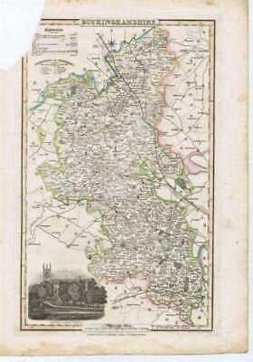 Map: 1839 Map of the County of Buckinghamshire - from Pigot & Co's British Atlas