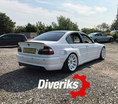 Bmw E46 Pandem Style Prefacelift Sedan And Touring Wide Overfenders