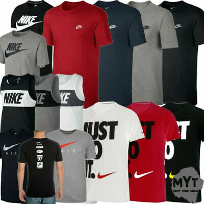 Nike Mens T Shirt Just Do It Swoosh T-Shirt Top All Sizes Sports Casual Tee