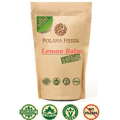Lemon Balm Organic Herb Tea Melissa officinalis Good Night,Calms,Stomach problem