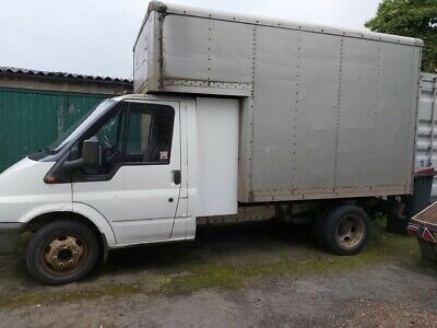 REDUCED....Ford transit Luton van diesel mwb 2001 71000 miles £1750