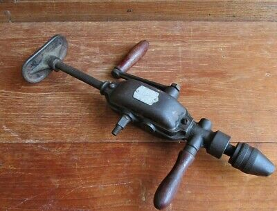Antiques, collectibles, old tools Small Antique Hand Drill Made from Poland.