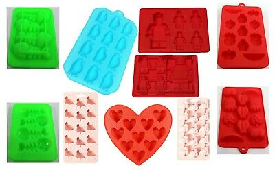 Ice Cube Tray high quality Silicone, Chocolate Cake Jelly Candy Moulds