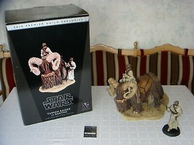Gentle Giant Star Wars PGM Exclusive Tusken Raider on Bantha Statue