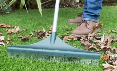 Artificial Grass Brush Rake for Astro Turf Fake Grass with Telescopic Handle