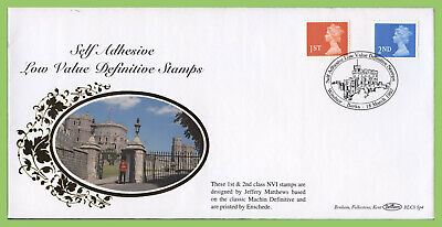 G.B. 1997 1st & 2nd class S/A on Benham First Day Cover, Windsor Castle