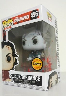 Funko Pop Movies The Shining Jack Torrance Frozen Chase #456 Limited Edition