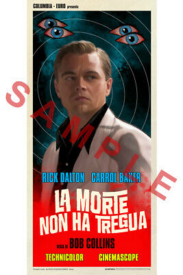 ONCE UPON A TIME IN HOLLYWOOD 12x18 FAKE MOVIE POSTER RICK DALTON DICAPRIO 4