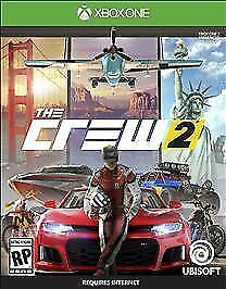 Ubisoft The Crew 2 Deluxe Edition Xbox One NEW FREE shipping!