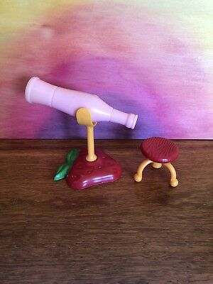 Strawberry Shortcake Berry Happy Home Attic Telescope Stool Rare