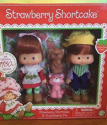 Strawberry Shortcake, Huckleberry Pie with Pets, new reissue