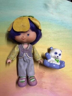 Strawberry Shortcake Almond Tea And Pet With Box Vintage Strawberry 🍓