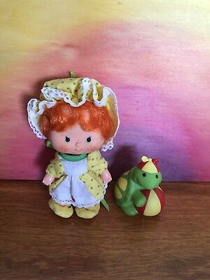 Strawberry Shortcake Vintage Apple Dumpling Party Pleaser With Pet Turtle