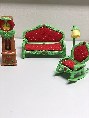 Strawberry Shortcake Furniture Living Room Deluxe Set, Four Pieces