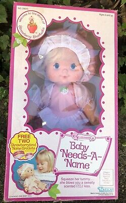 Vintage Strawberry Shortcake Baby Needs A Name New In Box 🍓