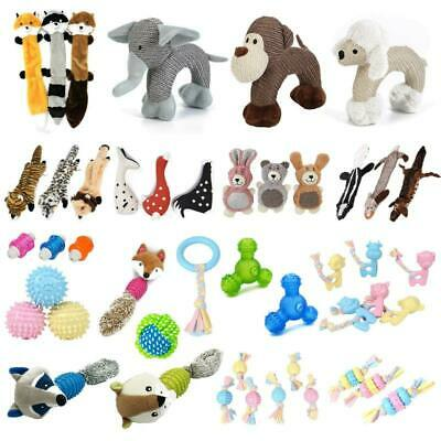 Dog Chew Bite Knot Toys Pet Puppy Teeth Chew Bear Braided Tough Strong Rope Toy