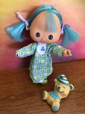 Strawberry Shortcake Vintage Sweet Sleeper Blueberry Muffin With Pet