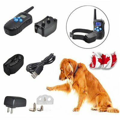 Rechargeable Electric Shock Collar for Dogs With Remote - 3 Modes Waterproof