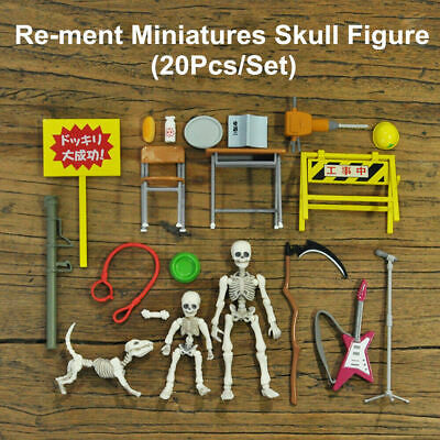 """Re-ment Miniatures Pose Skeleton /""""Human 01/"""" 1//18 Scale Rement"""