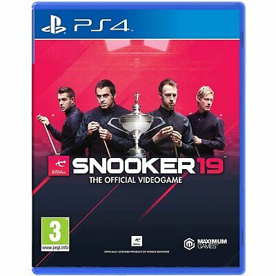 Snooker 19 The official Video Game For Sony Playstation 4 PS4 (English Sub)