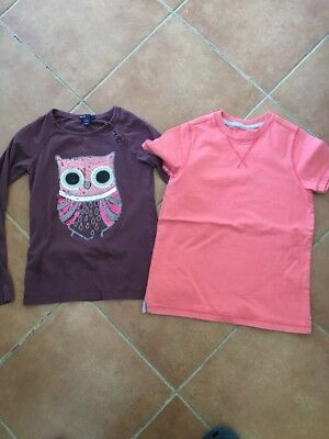 Bundle Of 2 Tops Gap And Boden - Girls Age 8-9 Yrs