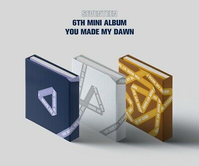 SEVENTEEN 6th Mini Album [YOU MAKE MY DAWN] CD+P.Book+Card+Sticker+F.Poster+etc