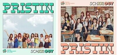PRISTIN 2nd Mini Album - [SCHXXL OUT] CD+Photobook+Post+Sticker+Card+F.Poster
