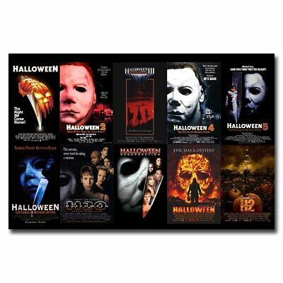 TRICK R/' TREAT Horror Sam Halloween Movie Art Silk Poster 12x18 24x36inch 005