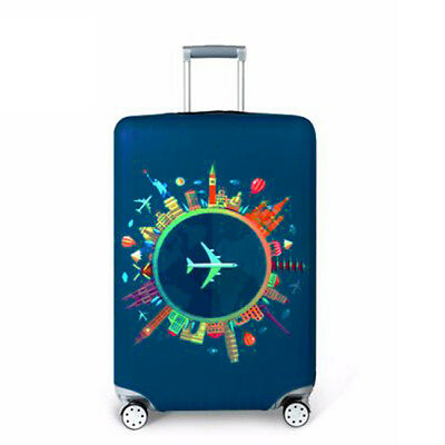 Durable Luggage Protective Case Cover Elastic Suitcase Dust Protector TO