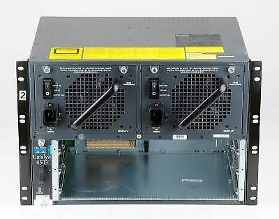 CISCO WS-C4503 Catalyst 4500 Series Network Switch Chassis With power supply/FAN