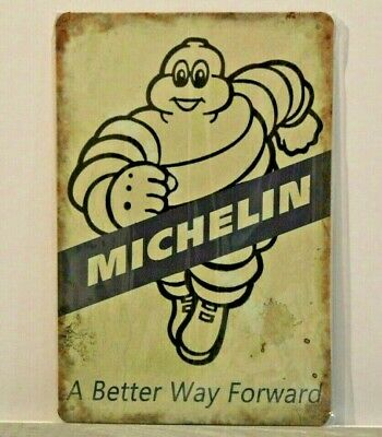 MMS8 Michelin A Better Way Forward Metal Sign New 30 cm H X 20 cm W