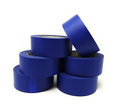6 Pack Painters Masking Tape Multisurface 48mm Wide,54.86m Long Decorating,craft