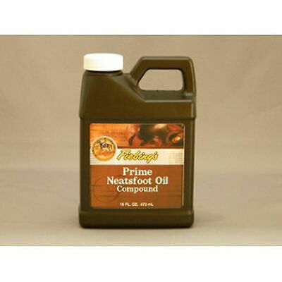 FIEBING'S Neatsfoot Oil Prime Compound 16oz Leather Saddle Boots Tack Preserve