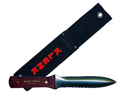 DA71000 KLENK TOOLS Dual Duct / Insulation Knife,Rosewood Handle,Free Shipping