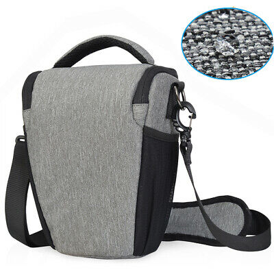 Camera Case Shoulder Bag Waterproof Black Backpack for Canon Nikon Sony SLR DSLR