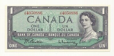 1954 Canada One Dollar Bank Note (Unc)