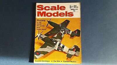 Scale Models March 1972 - Volume 3 No.3