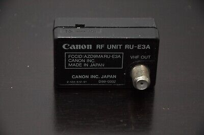 Canon RF Unit RU-E3A for camcorders Genuine Part OEM