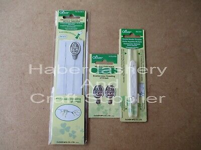 Clover Needle Threader Pick 1 Size  Small,Dbl Ended,Long