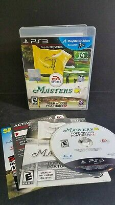 Tiger Woods PGA Tour 12: The Masters (Sony PlayStation 3, 2011) *Complete/Tested
