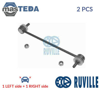 2x RUVILLE ANTI ROLL BAR STABILISER DROP LINKS PAIR 915062 I NEW OE REPLACEMENT
