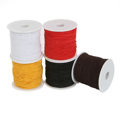 50 M Elastic Cord Beading Wire Nylon String Rope Thread Bracelet Necklace DIY