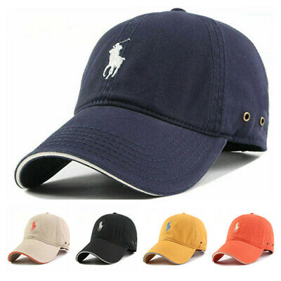 Hot One Size Polo Cap Adjustable Strap Baseball Sun Pony Free Size Hat Men&Women